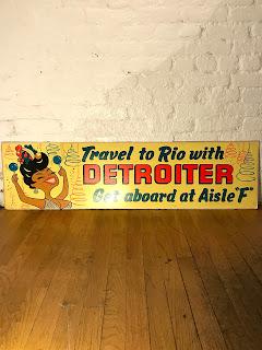 Vintage Lithograph Travel Advert