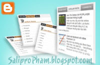 Tab menu chứa widget cho Blogger - Blogspot, create tabs menu, tab-menu, how to create tab menu, popular post tab menu