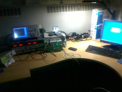 Just a tool: Photo of lab with electronics equipment