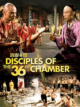 Poster Of Disciples of the 36th Chamber 1985 In Hindi Bluray 720P Free Download