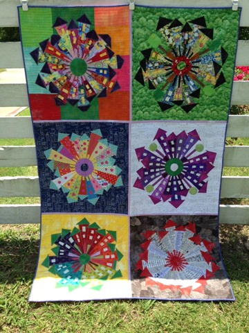Dresden Neighborhood Quilts made by Martha Lindberg