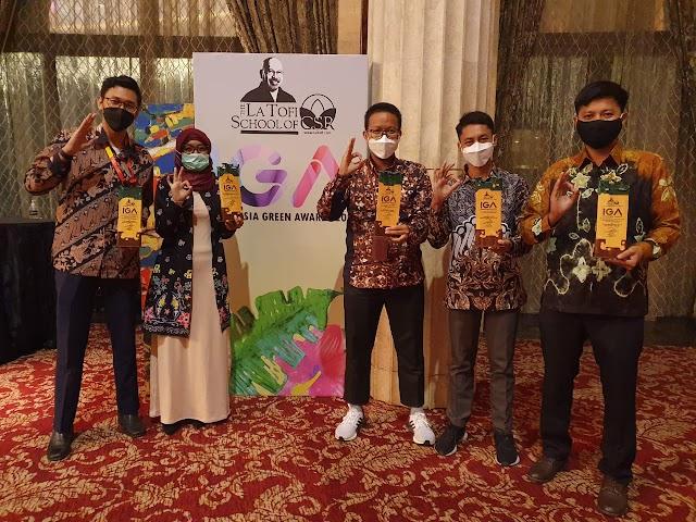 Pertamina IT Banjarmasin dan DPPU Syamsudin Noor Raih Empat Penghargaan IGA 2021