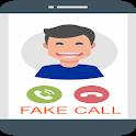 Fake call(prank) icon