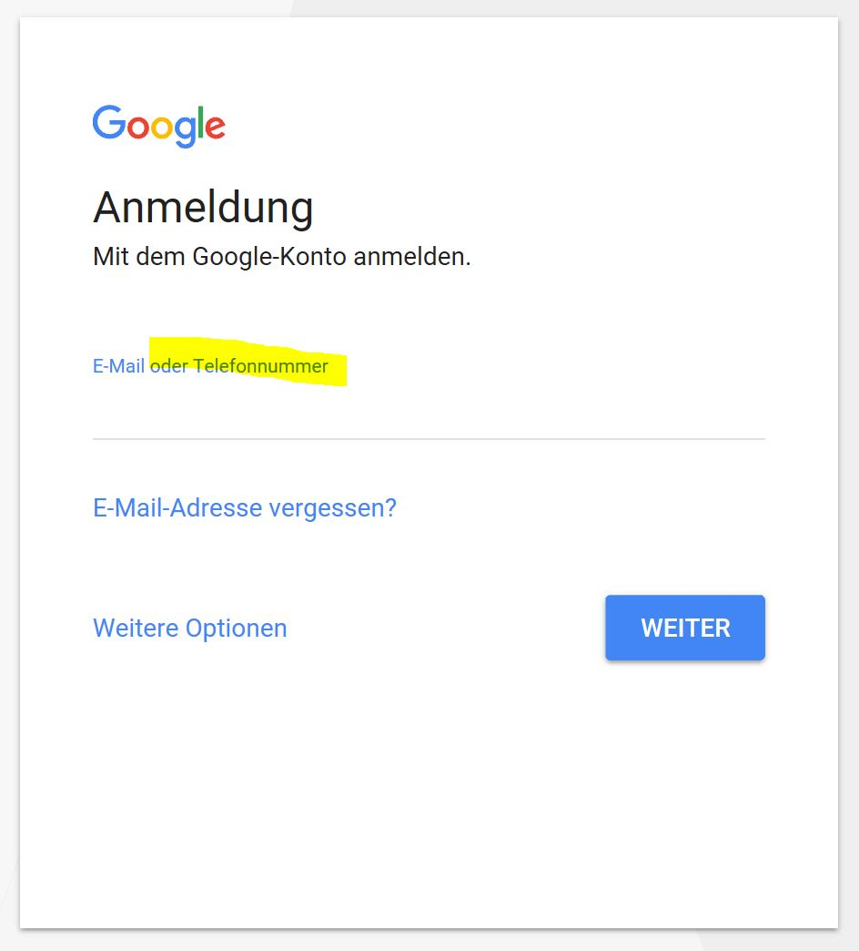 google passwort vergessen aber noch angemeldet