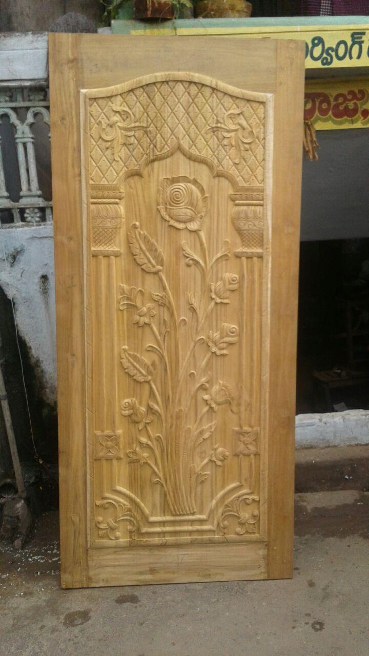 Woodcarving single door & Psr wood carving : April 2017