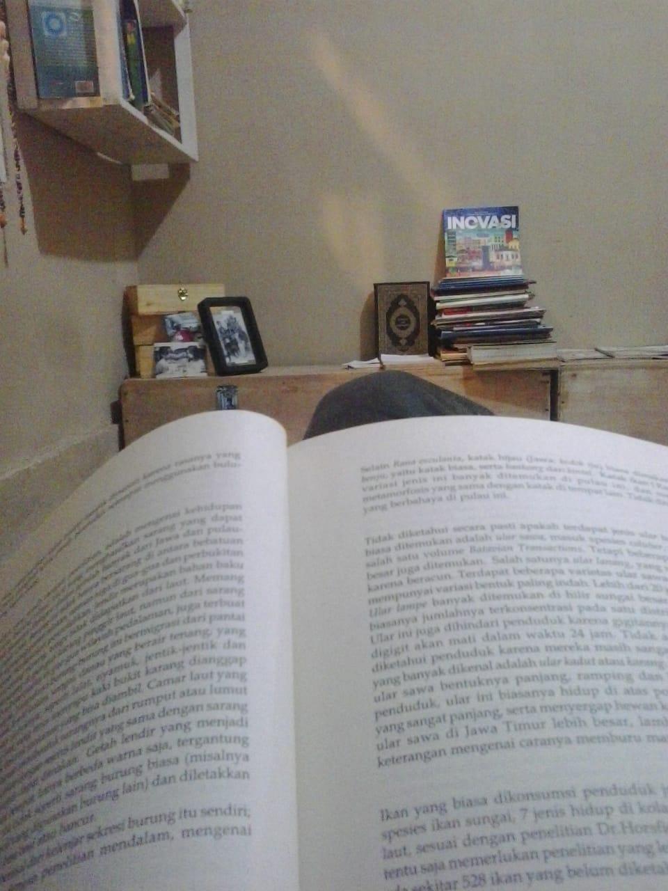Alasan untuk Tak Sempat Membaca Buku