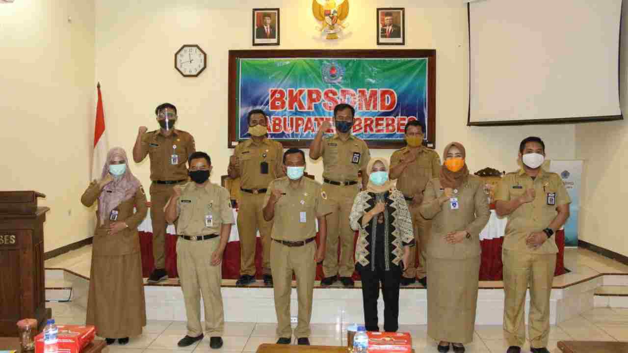 Peserta Diklat PKA Dari Kabupaten Brebes 50 Persen Masuk Peringkat 10 Terbaik.
