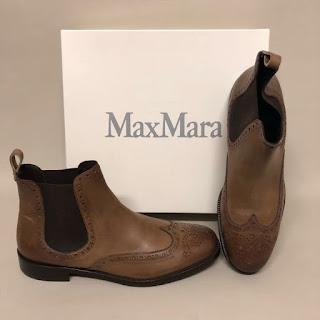 Max Mara Brogue Boots