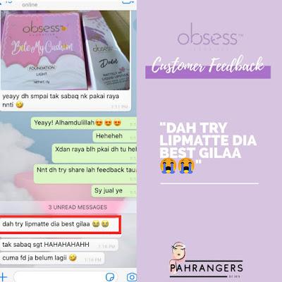 Obsess Lipmatte Raya Edition,Obsess Lip matte Review