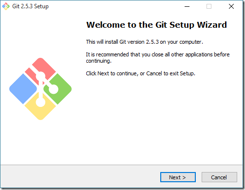 Pro Git: Установка Git 2 5 3 x64 на Windows 10 Pro x64