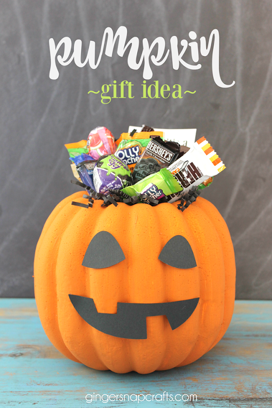 pumpkin gift idea #makeitfuncrafts
