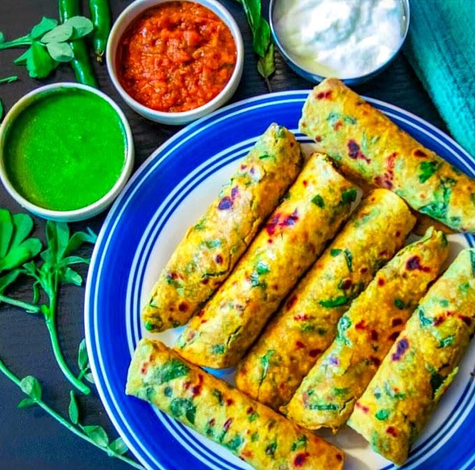 Methi Paratha/ Fenugreek Paratha Recipe | Breakfast Care
