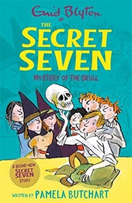 The Secret Seven Mystery of the Skull cover