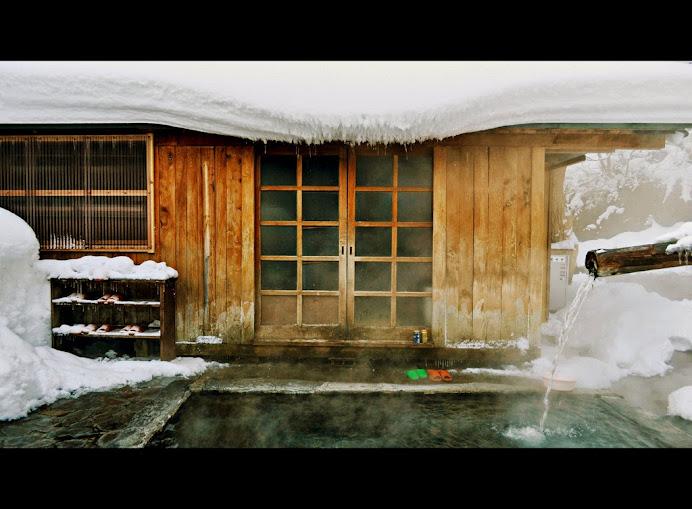 tắm suối onsen