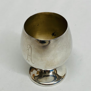 Sterling Silver Fisher Cup