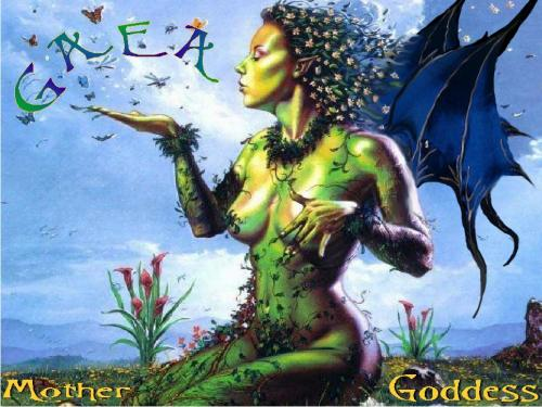 Goddess Gaea, Gods And Goddesses 1