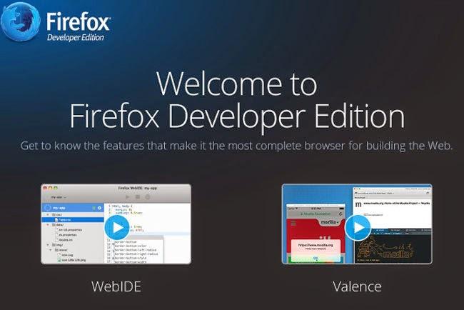 Mozilla ha lanzado Firefox Developer Edition