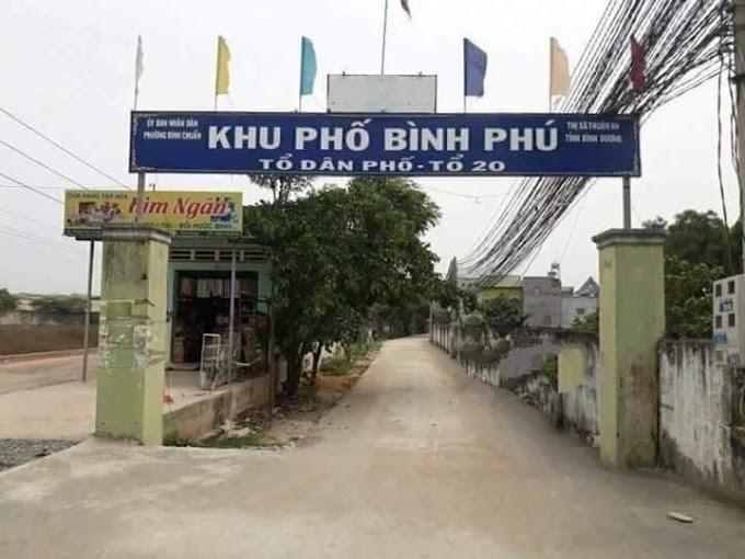 Cần bán lô đất Sổ Hồng Riêng ở khu phố Bình Phú, Bình Chuẩn, Thuận An, Bình Dương. Giá chỉ 1ty360