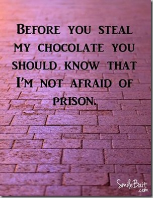 before you steal my chocolate