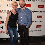 OIC - ENTSIMAGES.COM - Ruth Platt and Robert Hands at the Film4 Frightfest on Monday   of  The Lesson  UK Film Premiere at the Vue West End in London on the 31st  August 2015. Photo Mobis Photos/OIC 0203 174 1069