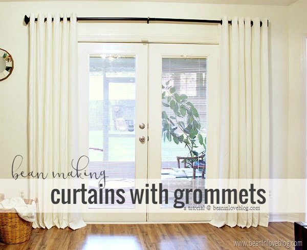 curtains with grommets