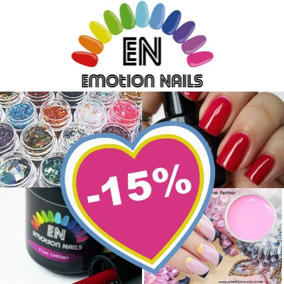 emotion nails - sconto 15%