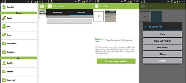 Fax gratis app