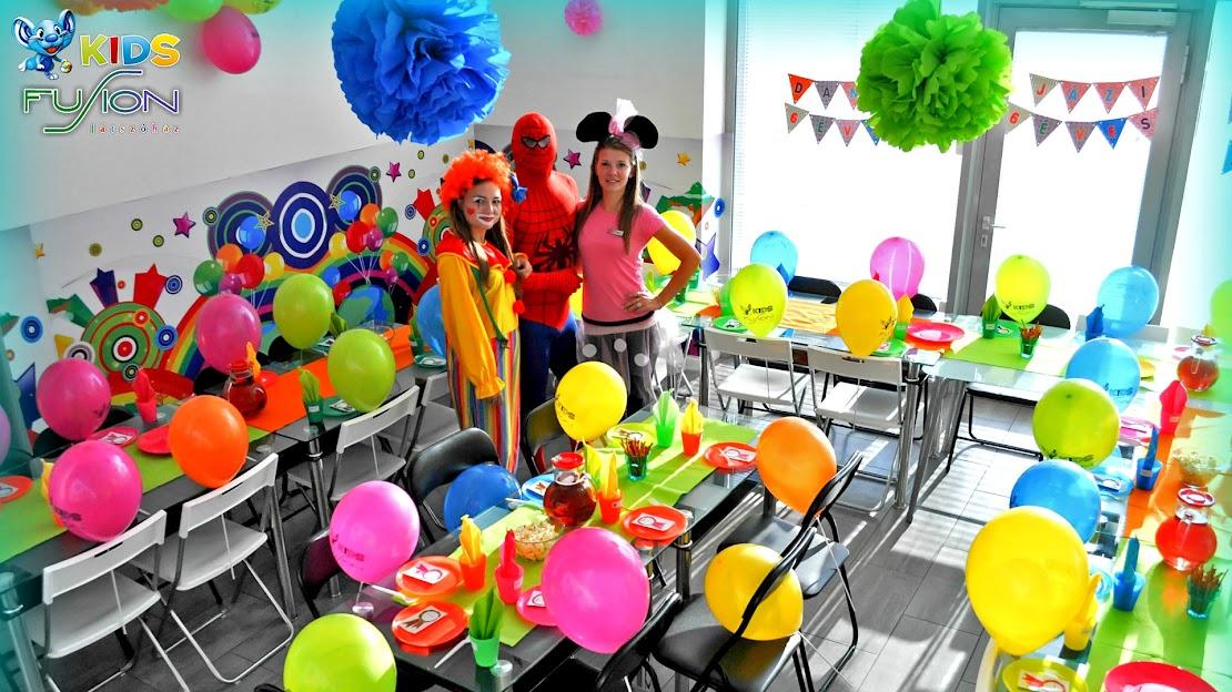 Születésnapi party Fusion játszóház