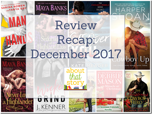 Review Recap: December 2017 | About That Story
