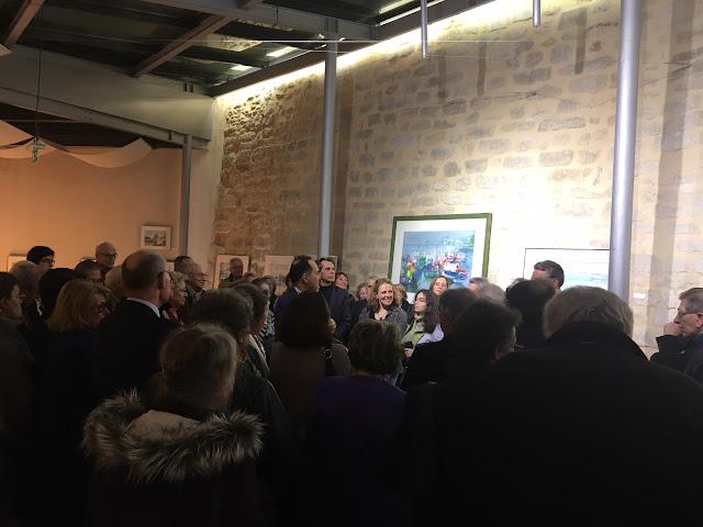 Mairie de Sèvres - Inauguration exposition Selezneff