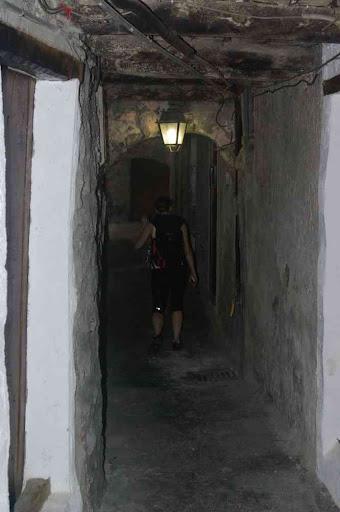 Une rue souterraine à Saorge