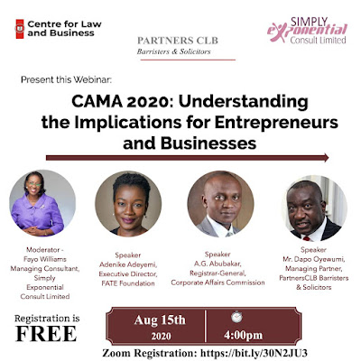 CAMA 2020; PARTNERS CLB, CAC,