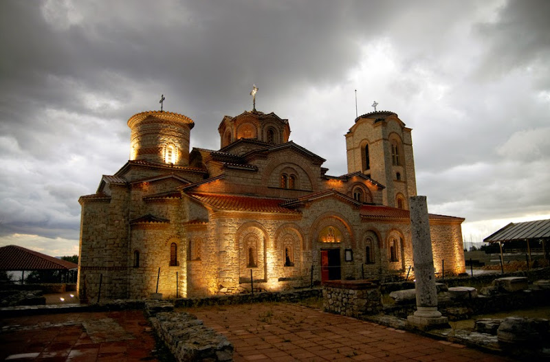 25. The Monastery of Saint Panteleimon. IX Century. Ohrid