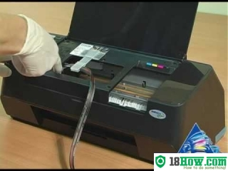How to Reset Epson D78 laser printer – Reset flashing lights error