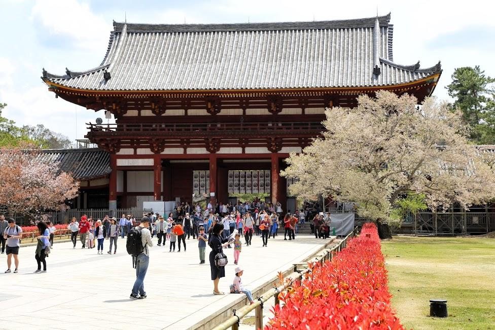 Tōdai-ji, Daibutsu-den, Pawilon Wielkiego Buddy, Nara