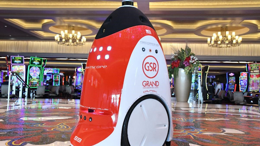 Grand Sierra Resort expands security team with first robot in a northern Nevada casino
