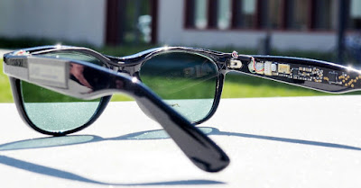 Researchers have developed a solar sunglass that produces electricity