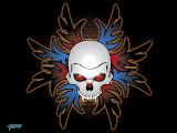 Tribal Skull 3