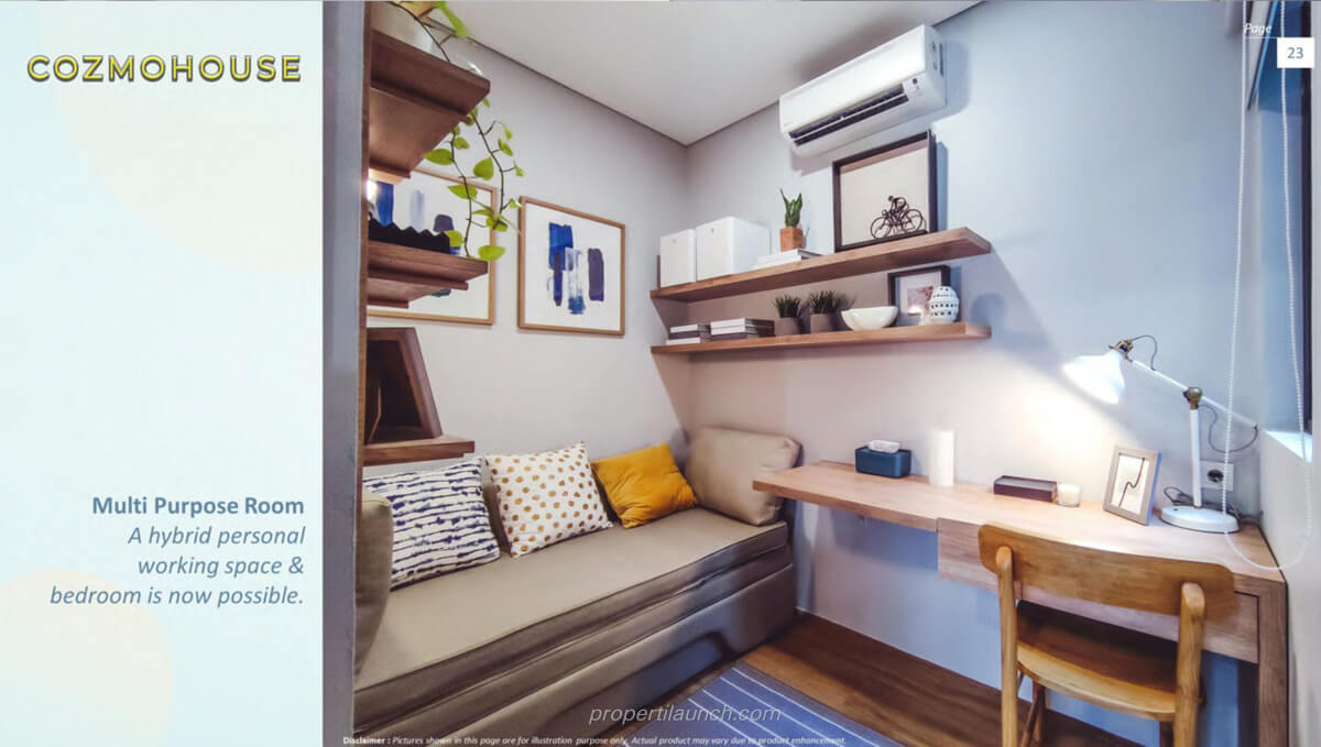 Show Unit Rumah Cozmo House Myza BSD - Multi Purpose Room