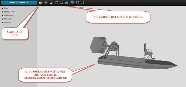 visualizzatore di file 3ds obj e stl