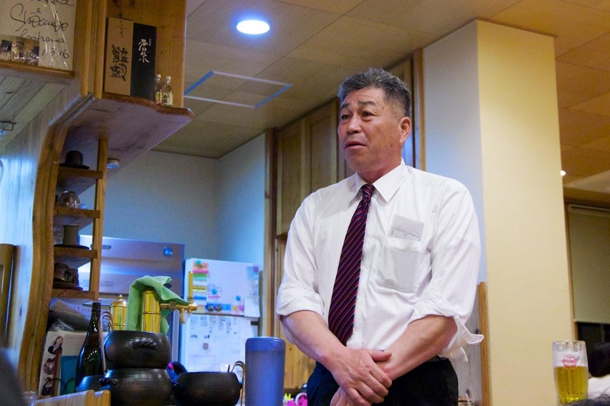 JAきたそらち北竜支所・ひまわりライス生産組合・佐藤稔 組合長