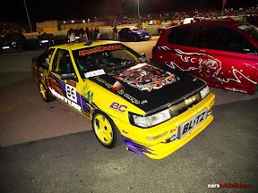 Yellow Toyota Levin (AE86)