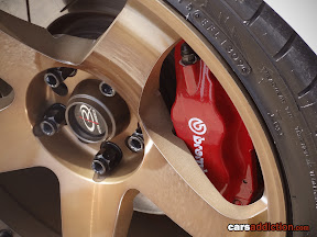 Close call with Brembo Calipers on Evo 7