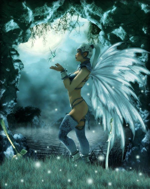 Moon Goddess, Goddesses