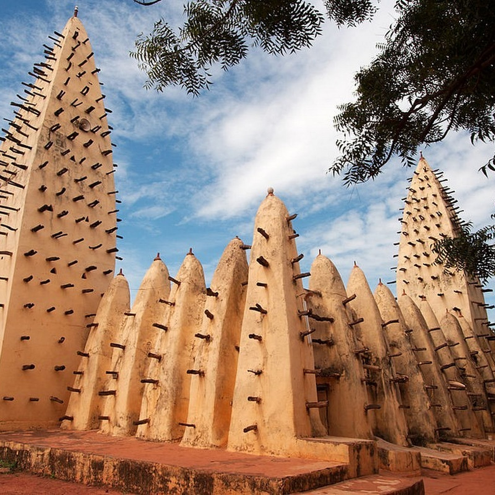 The Magnificent Mudbrick Mosques of West Africa
