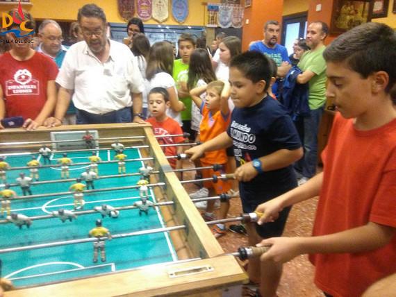 """Los """"nanos"""" del Duc consiguen un brillante 3er puesto en el Campeonato de Futbolín de la Agrupación"""