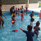Holi Celebrated by Nursery Afternoon Section at Witty World, Chikoowadi (2017-18)