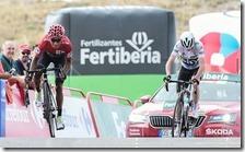 Nairo Quintana vince la Vuelta 2016