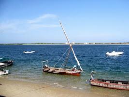 Boat in Lamu Kenya