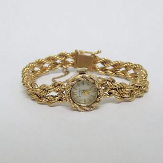 Baume & Mercier 14k Gold Watch
